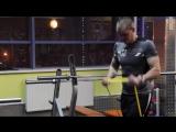 Упражнения с резиновыми петлями для верха тела_ Бицепс, Трицепс, Плечи, Грудь, Пресс