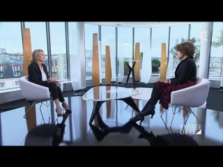 Фанни Ардан / Fanny Ardant - Entrée libre (09.01.2017)