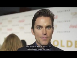 Matt Bomer What Olympic event would you compete in?