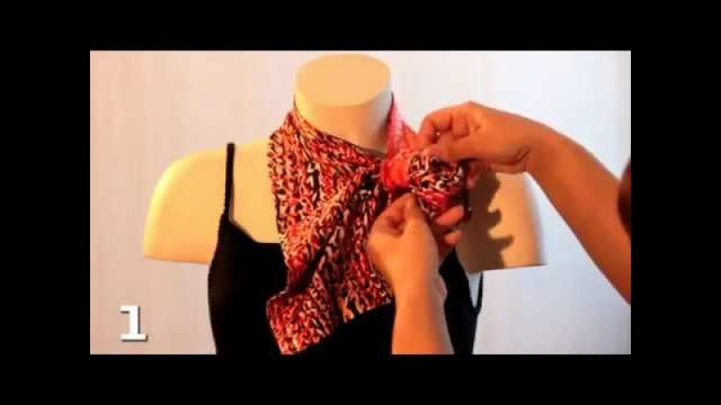 Французская косынка (French headscarf)
