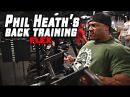 Phil Heath's BACK Training For MASS At Bev Francis PowerHouse GYM