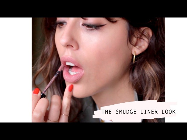 THE SMUDGE LINER LOOK
