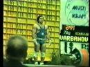 CLEAN JERK WORLD RECORD Alexander Varbanov 215 kg