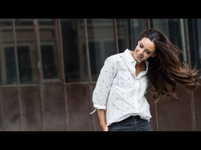 Danielle Peazer and her Completely Seamless Clip In Hair Extensiosn by Vixen Blush