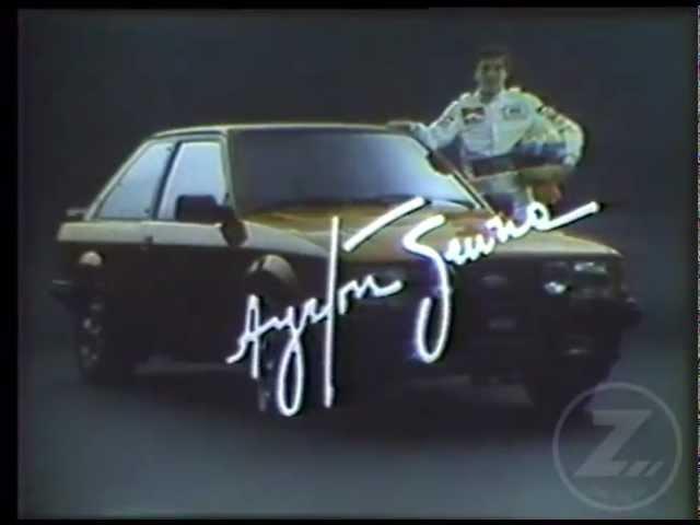 Lançamento do Ford Escort XR3 com Ayrton Senna