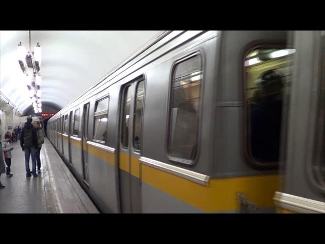 Электропоезд 81-720721 Яуза (Парад поездов Московского метро 82 года!)