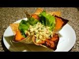 САМ себе ПОВАР Шикарная подача порционных блюд. Салат Оливье  Elegant serving of a La carte dishes