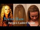 Vikings Inspired Hair Helga's Ladder Braid