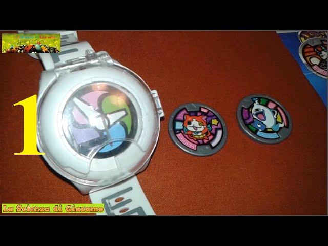 La Scienza di Giacomo✦E' arrivato il mio Yo Kai Watch 1 ✦Recensione orologio e prime medaglie