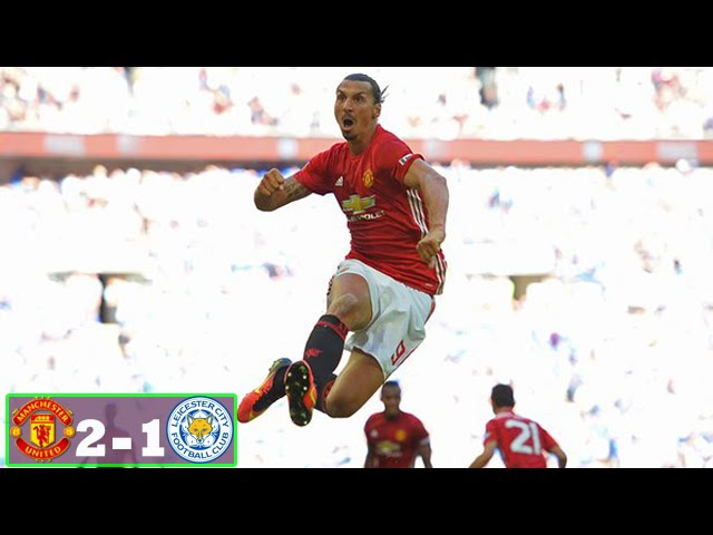 Leicester City vs Manchester United 1-2 Highlights and Full Match Community Shield 07/08/2016