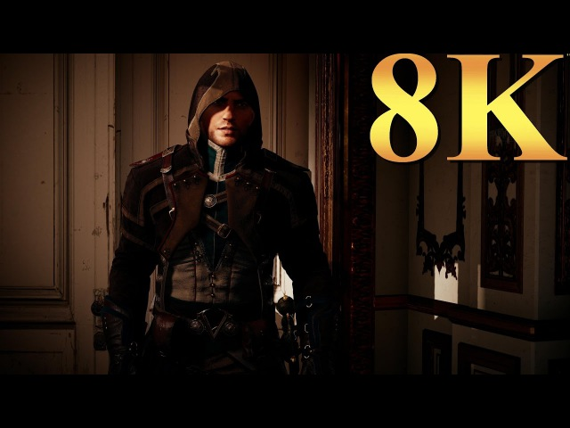 Assassins Creed Unity ACU 8K Gameplay Titan X Pascal 4 Way SLI PC Gaming 4K | 5K | 8K and Beyond