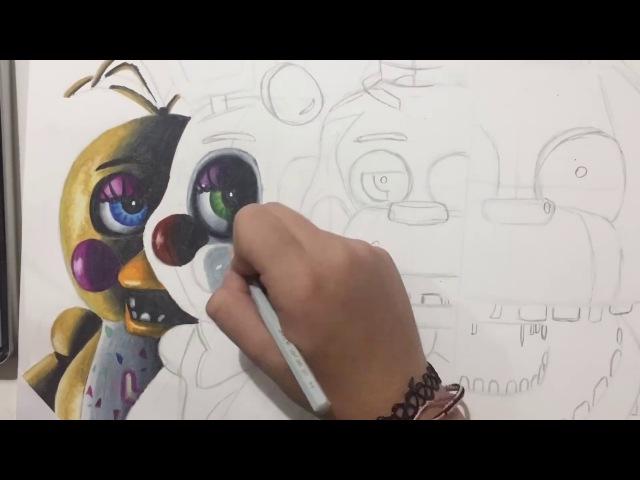 Drawing FNAF 2