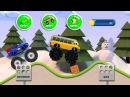 Мультики про машинки для детей Мультик игра Монстер трак Monster truck game for kids 2