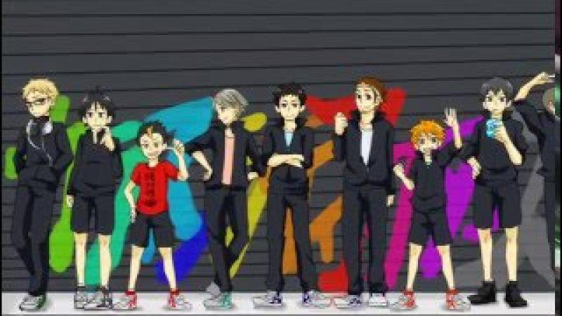 【Hand Drawn】Haikyuu!! Mekakucity actors OP Parody【Haikyuu!!】