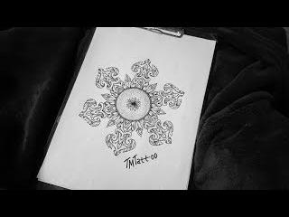 Drawing #3. Орнамент \\ Рисуем эскизы татуировок