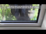Condensation removal from double glazed windows