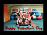 Восточные танцы видео-поздравление с Днем святого Валентина
