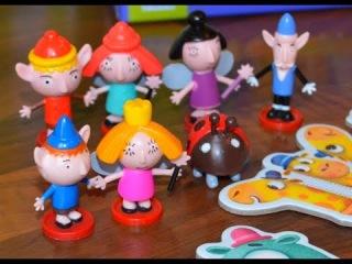 Маленькое королевство Бена и Холли Прыгучие шарики новая серия! На русском!