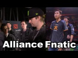 ALLIANCE vs FNATIC - ELIMINATION BRACKET TI6 DOTA 2
