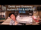 Audient iD14 &amp ASP800 Demo and Giveaway - Warren Huart Produce Like A Pro