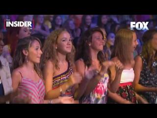 Britney Spears Dances to Vanilla Ice Ice Ice Baby (X Factor)