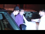 Ranbir and Rajkumar Hirani arrive for Imtiaz Ali's birthday bash