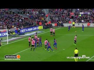 Барселона - Атлетик 2:0. Лионель Месси