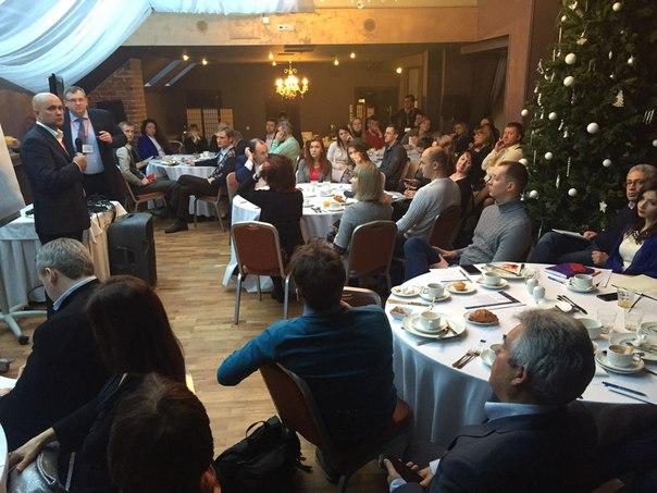 Сегодня в Санкт-Петербурге прошел бизнес-завтрак «Как мотивировать отд