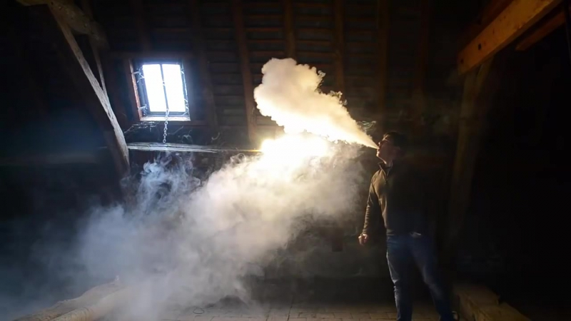 Power Vaping Cloud Chasing French Vape Build mod meca electro