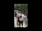 24.04.17 B.A.P (Ёнгук, Химчан, Ёндже, Зело) после MWave Meet & Greet