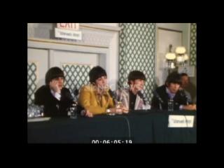 NYC Warwick Hotel press conference NBC raw footage (1966.08.22)