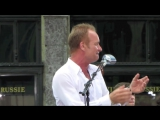 Sting performs Englishman In New York live in NYC