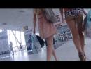 Вот это Жопа! Ходил за красивой девочкой с голой задницей по аэропорту