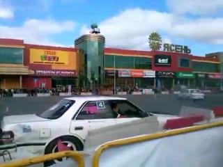 Авария на дрифте в Иванове