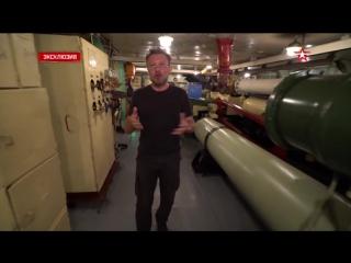 Аэрофинишер «Адмирала Кузнецова» в действии- уникальные кадры изнутри