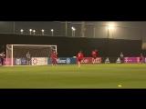 Звёзды футбола с нашей планеты (без Месси и Роналду) на тренировках. Голлы, скиллы и др.