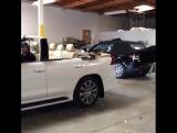 Lexus LX570 с откидной крышей