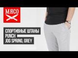 Спортивные штаны Punch - Jog Spring, Grey. Обзор