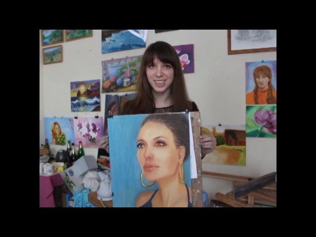 Курс Портрет. Отзывы и фотоотчет. Художественная студия Viki-ART