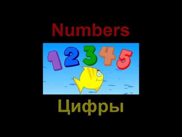 Английский язык детям. Счет до 5 Цифры на английском языке Count in English