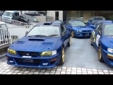 Subaru Impreza 22B-STi Owner's Club 10th Anniversary Meeting
