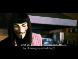 V for Vendetta - Symbols are given power by people (HQ + Lyrics)