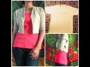 How to reuse a t-shirt into cool/casual jacket