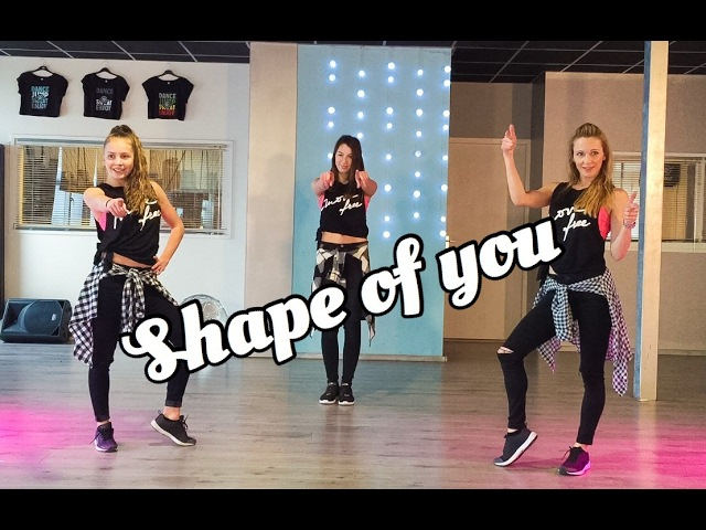 Shape Of You Ed Sheeran Fitness Dance Choreography Baile Coreografia Zumba