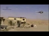 ВКС РФ СУ-24 на сверхнизкой. Пилоты РФ приветствуют САР.