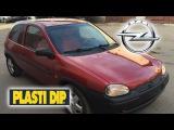 Полная покраска Opel Vita жидкой резиной с лаком и Raptor U-POL