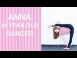 Anna amazing dancer and cheerleader!