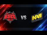 Natus Vincere vs HellRaisers - final Season I Gold Series WGL RU 201617
