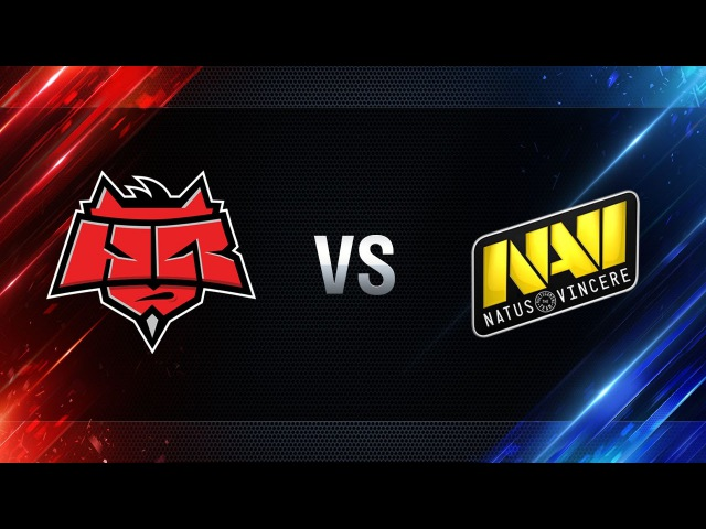 Natus Vincere vs HellRaisers - final Season I Gold Series WGL RU 2016/17