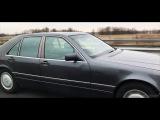 Mercedes W140 600 SE cruising
